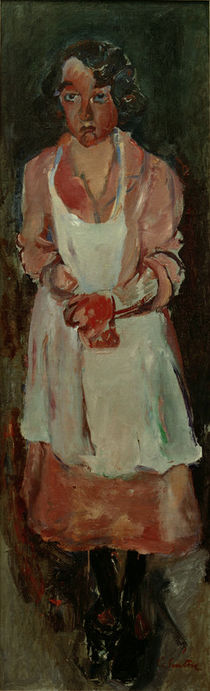 Ch. Soutine, The Chambermaid / painting by AKG  Images