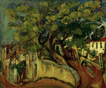 Ch. Soutine, Landschaft in Cagnes mit Baum von AKG  Images