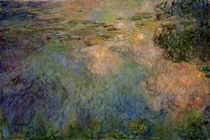 Claude Monet / Waterlily Pond / Painting by AKG  Images