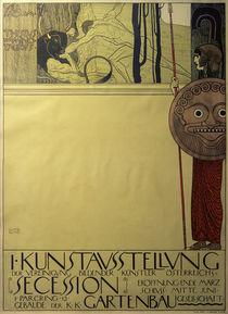 G.Klimt, I. Ausstellung der Secession by AKG  Images