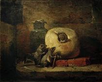 Ph. Rousseau, Die Ratte, die sich von... by AKG  Images