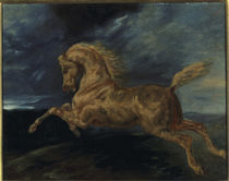 Géricault / Horse shying lightning by AKG  Images