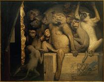 G.v.Max, Affen als Kunstrichter von AKG  Images