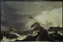 L.Backhuysen, ships in trouble.. by AKG  Images