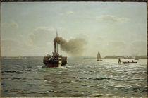 E.Dücker, Die Ostsee bei Flensburg von AKG  Images