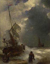 A.Achenbach, Anlandung der Fischer von AKG  Images