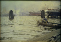 A.Zorn, Hamburger Hafen by AKG  Images