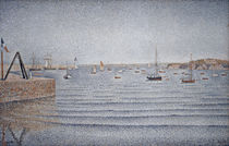 Paul Signac / The port of Portrieux by AKG  Images