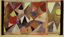 Paul Klee, Mountain Landscape / 1918 by AKG  Images