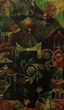 Paul Klee, Cosmic Architecture / 1919 by AKG  Images