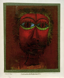 Paul Klee, Head of a Famous Robber /1921 by AKG  Images