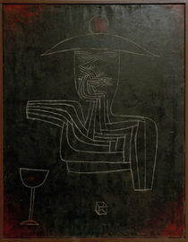 Paul Klee, Geist bei Wein (Ghost) /1927 by AKG  Images