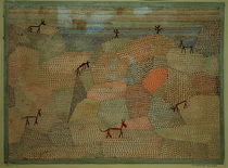 P.Klee, Landscape with Donkeys / 1932 by AKG  Images