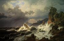 A.Achenbach, Ein Seesturm v. norweg. Küste von AKG  Images