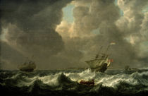 S. de Vlieger, (...) Stormy Seas by AKG  Images
