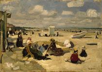 J.Goossens, Strand von La Panne by AKG  Images
