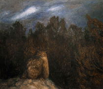 The Owl in the Forest / B.Liljefors / Painting, 1895 by AKG  Images