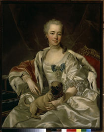 Princess Golizyn / Painting by van Loo by AKG  Images