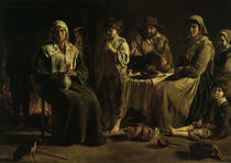 Le Nain / A peasant family / 17th-cent. by AKG  Images