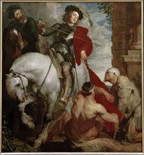 A. van Dyck, Mantelteilung des Hl. Martin von AKG  Images