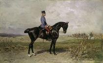 Franz Joseph, Reiterbildnis / Blaas von AKG  Images