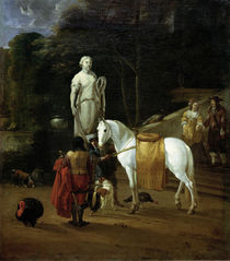 Dujardin / Farewell at the Palace / 1664 by AKG  Images