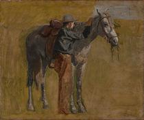 Th. Eakins, Cowboy (Studie) von AKG  Images