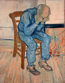 van Gogh / Mourning old Man / 1890 by AKG  Images