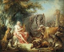 Boucher, Orpheus bezaubert die Tiere von AKG  Images
