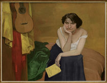 F.Vallotton / Woman with Guitar / 1913 by AKG  Images