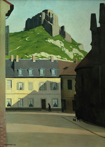F.Vallotton, Square in Les Andelys by AKG  Images