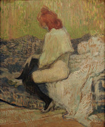 Toulouse-Lautrec / Red-haired woman /1897 by AKG  Images