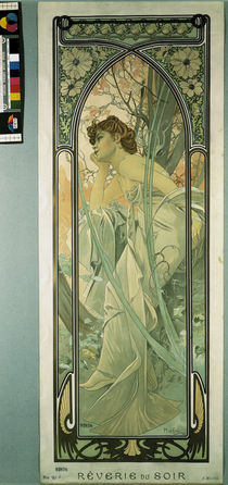 Mucha, Reverie du Soir by AKG  Images