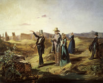 Spitzweg / Englishmen in Campagna / 1835 by AKG  Images