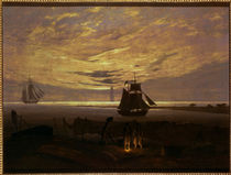 Friedrich / Evening at the Baltic Sea/1831 by AKG  Images