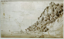 C.D.Friedrich / Wissower Klinken / Graf. 1802 von AKG  Images