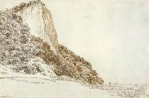 C.D.Friedrich, Stubbenkammer / Grafik 1801 von AKG  Images