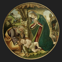 S.Botticelli / Adoration of the Christ Child by AKG  Images