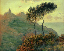 Monet / The church of Varengeville /1882 by AKG  Images