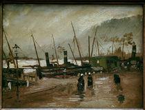 van Gogh / Ruijterkade in Amsterdam /1885 by AKG  Images