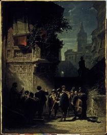 Spitzweg / Spanish Serenade / 1855–56 by AKG  Images