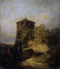 Spitzweg / Schlafender Wachtposten/um 1848 von AKG  Images