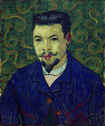 Van Gogh / Portrait of Dr. Felix Rey /1889 by AKG  Images