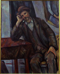 Cezanne / Man with a Pipe / 1890/92 by AKG  Images