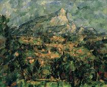 Cézanne, Landschaft in Aix/ 1906 von AKG  Images