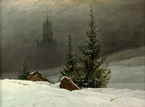 C.D.Friedrich / Winter Landscape / 1811 by AKG  Images