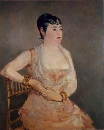 Manet / La Dame rose (Mme Martin) / 1881 von AKG  Images