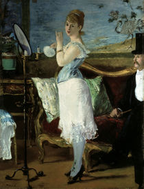 Edouard Manet / Nana / 1877 by AKG  Images