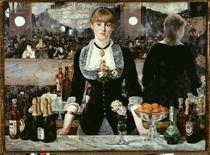 Edouard Manet, Bar in den Folies-Bergère von AKG  Images