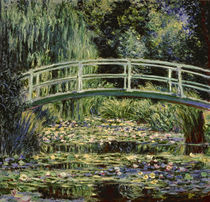 Monet / Les nympheas blancs / 1899 by AKG  Images
